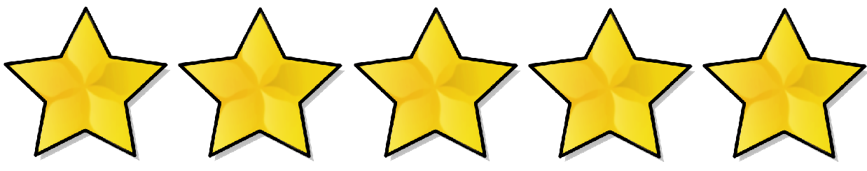 how to get 5 star rating on facebook page