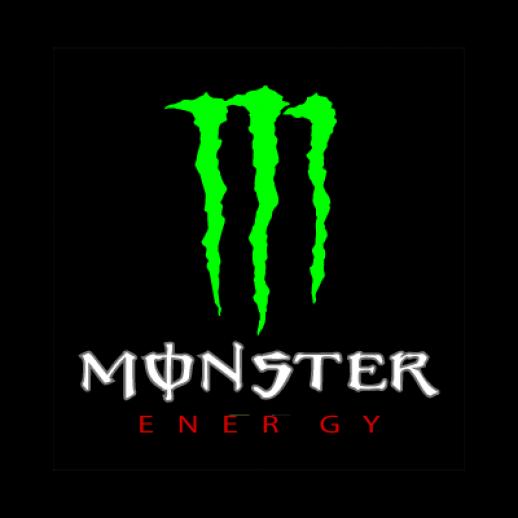 логотип монстр: