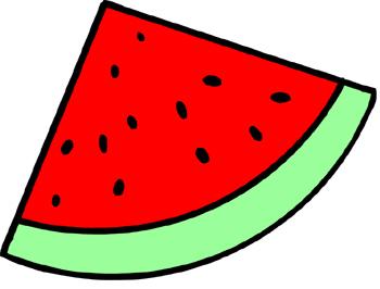 Watermelon Slice Clipartsco