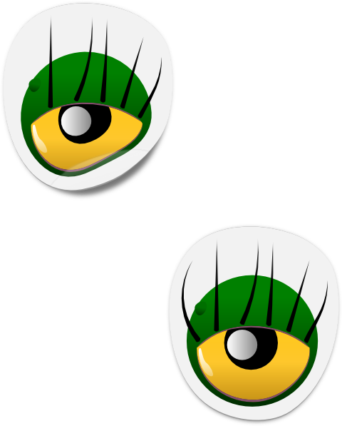 Monster Eyes Clipart - Cliparts.co