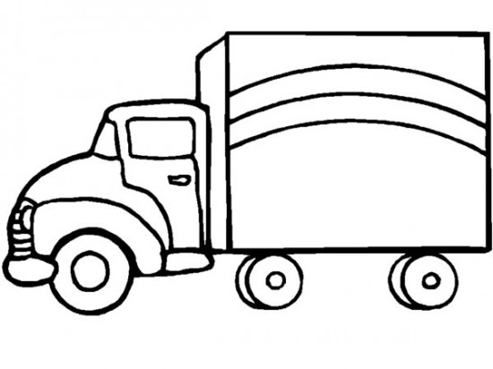 truck drawings for kids clipartsco