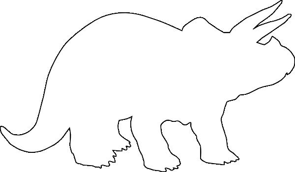Stegosaurus Outline Cliparts Co