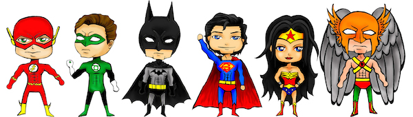 Cartoon Superhero Pictures Clipartsco