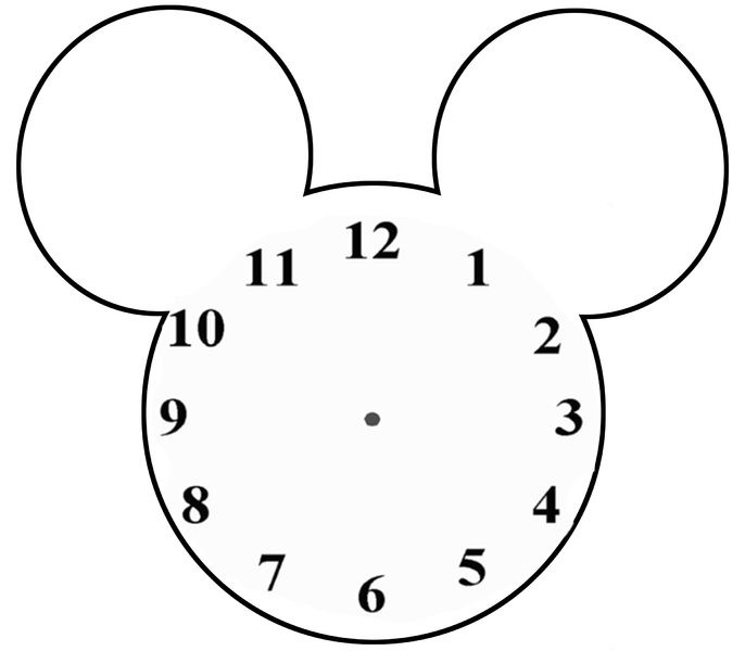 Blank Clock Face Printable - Cliparts.co