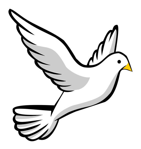 Dove Clip Art Free Dove On Jesus Shoulder | Clipart Panda - Free ...
