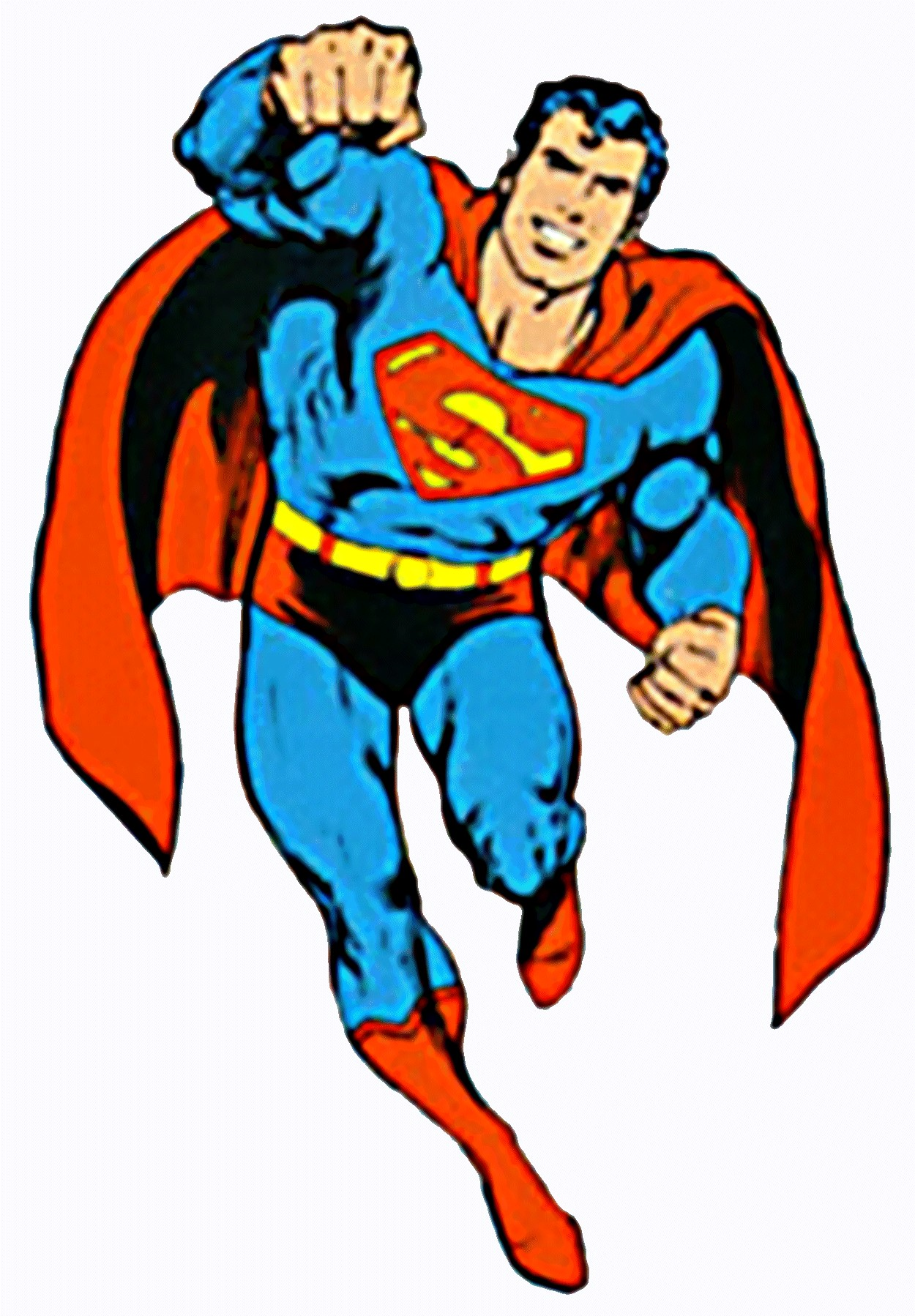 clipart superman flying - photo #14
