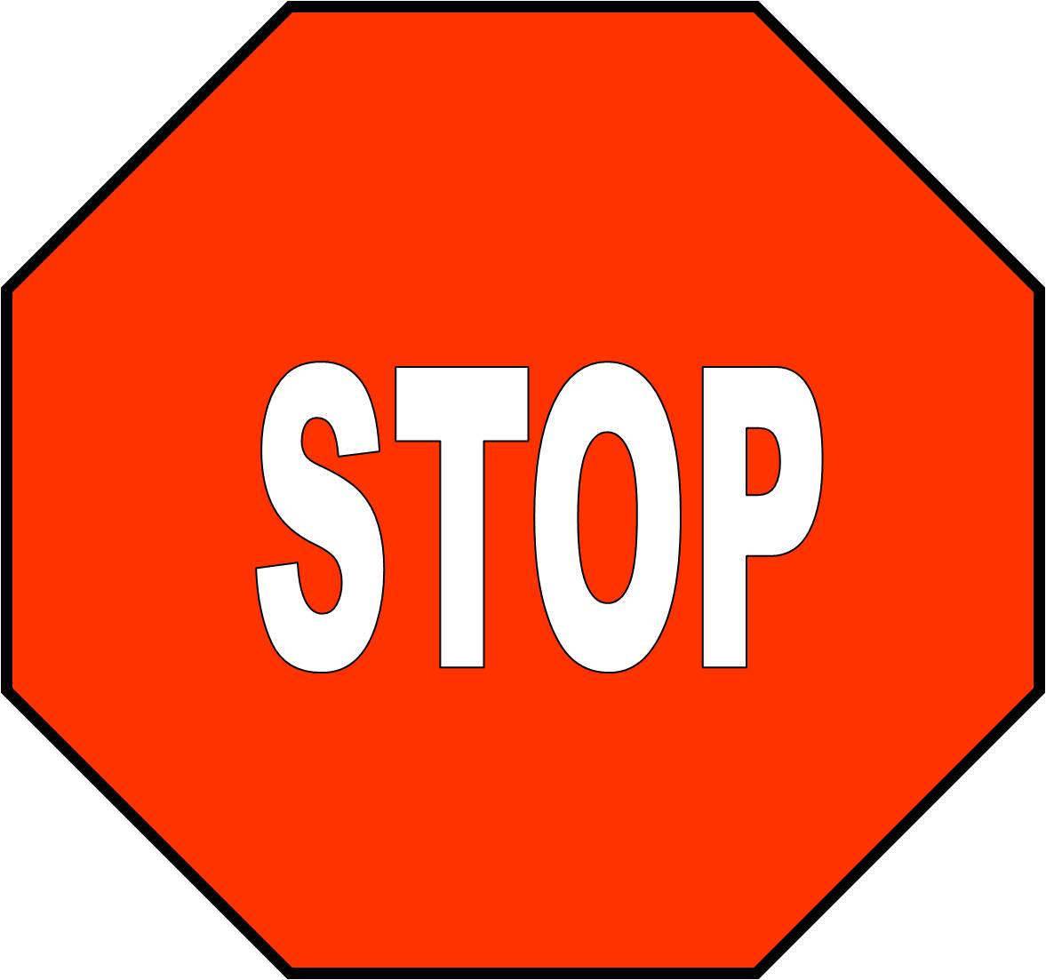 It is a picture of Clever Printable Picture of a Stop Sign