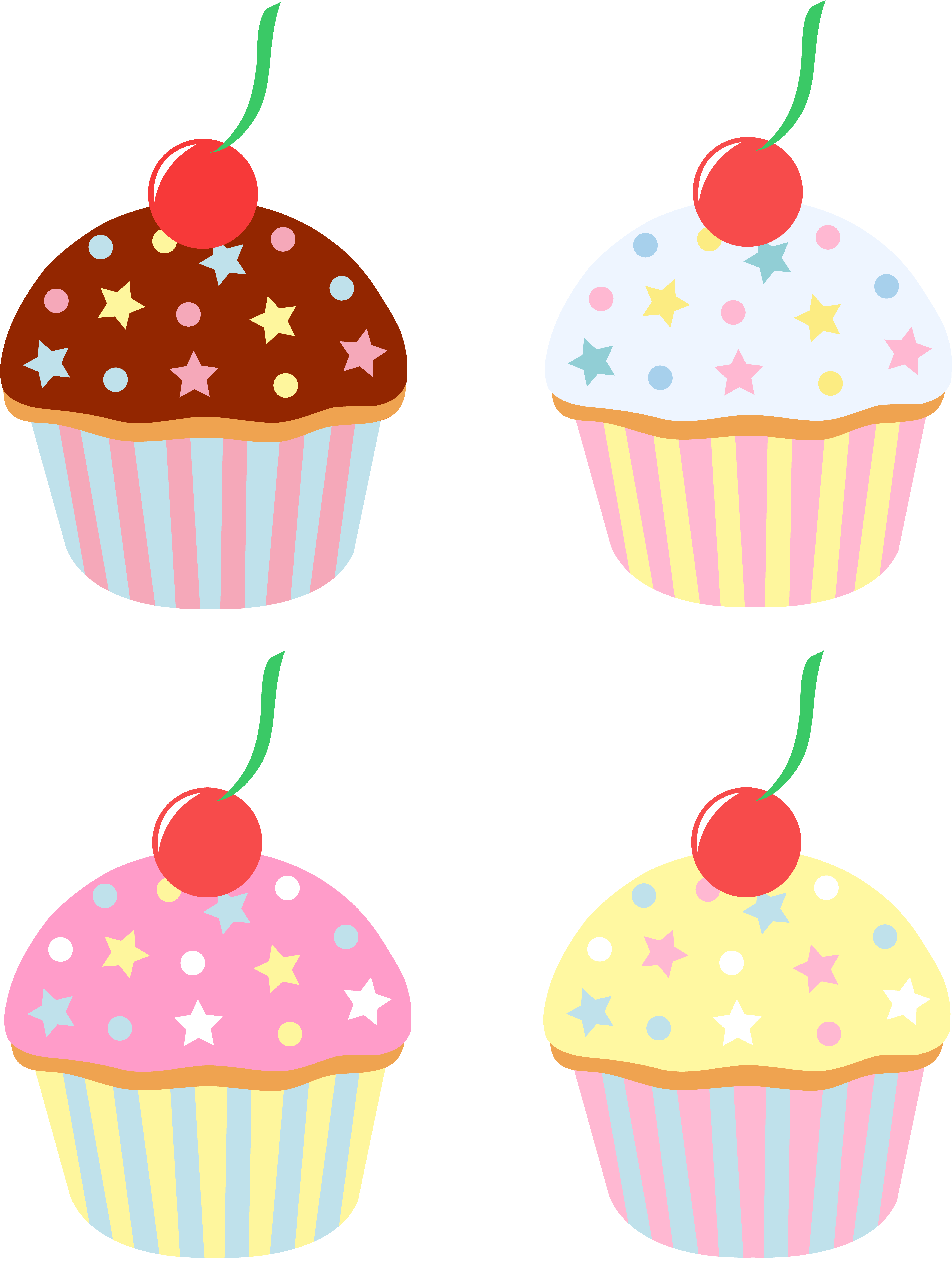 Images For > Cute Cupcake Cartoon - Cliparts.co
