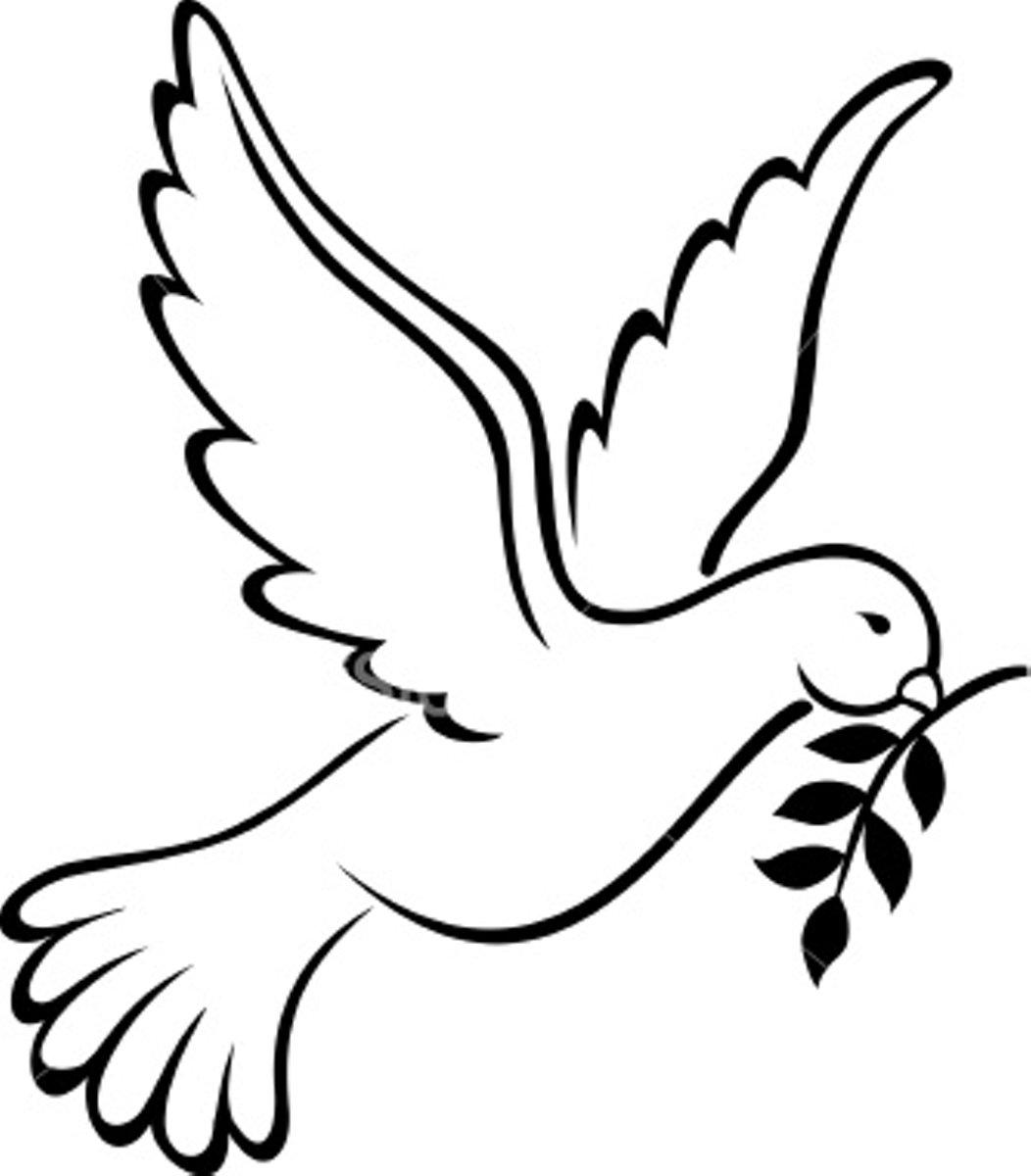 Holy Spirit Dove Clip Art - Cliparts.co