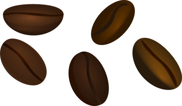 Coffee Beans clip art - vector clip art online, royalty free ...