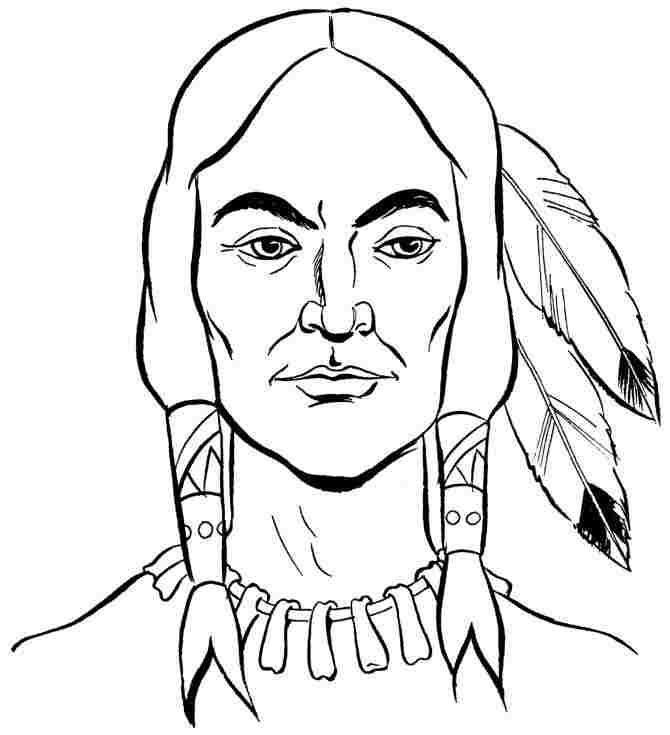 free thanksgiving indian coloring pages - coloring sheets thanksgiving indian printable for girls