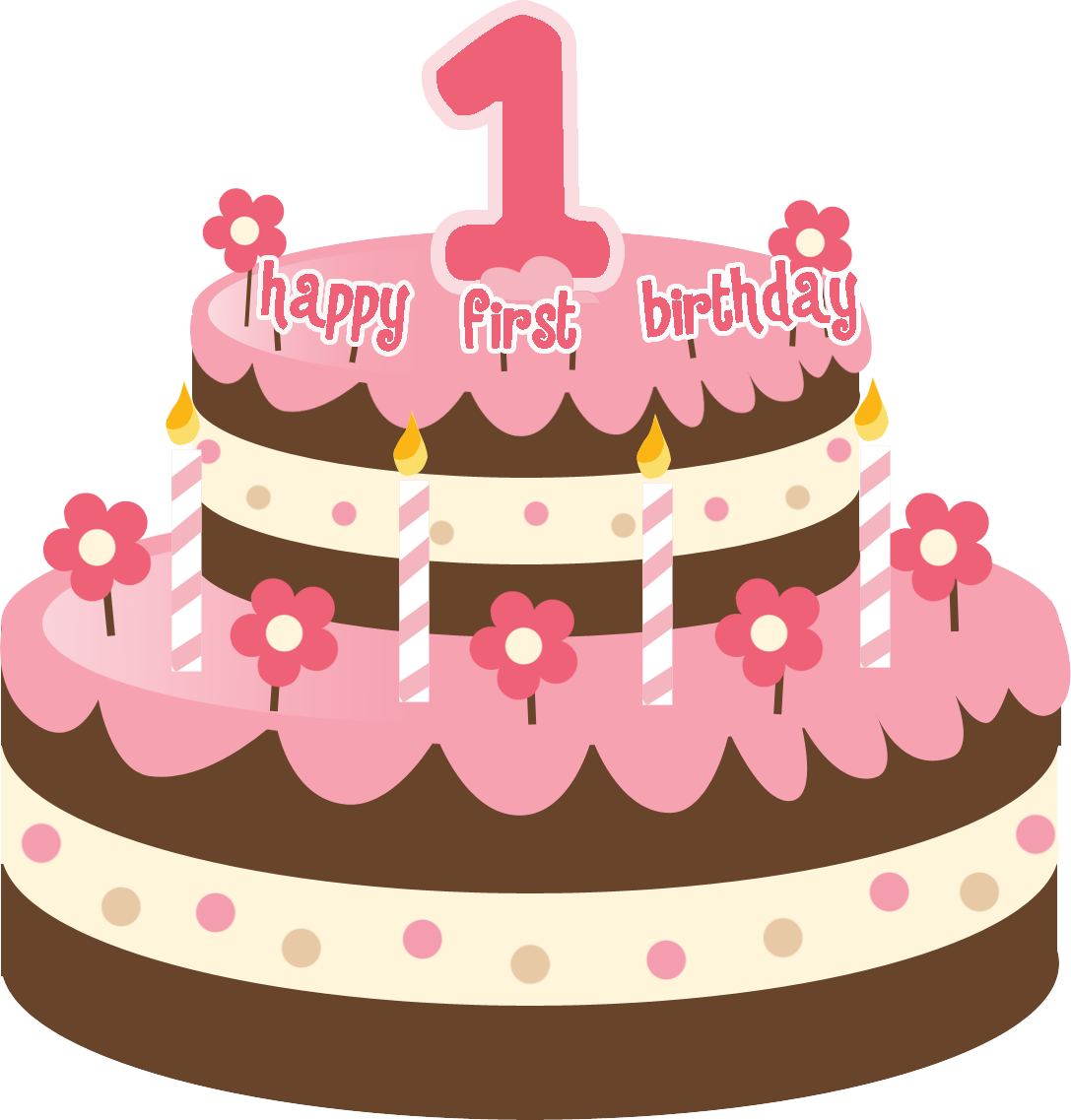 1st Birthday Cake Png Images For gt 1st Birthday Cake