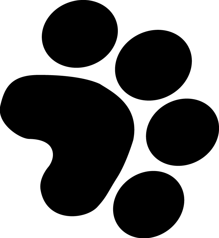 Puppy Paw Prints Clip Art