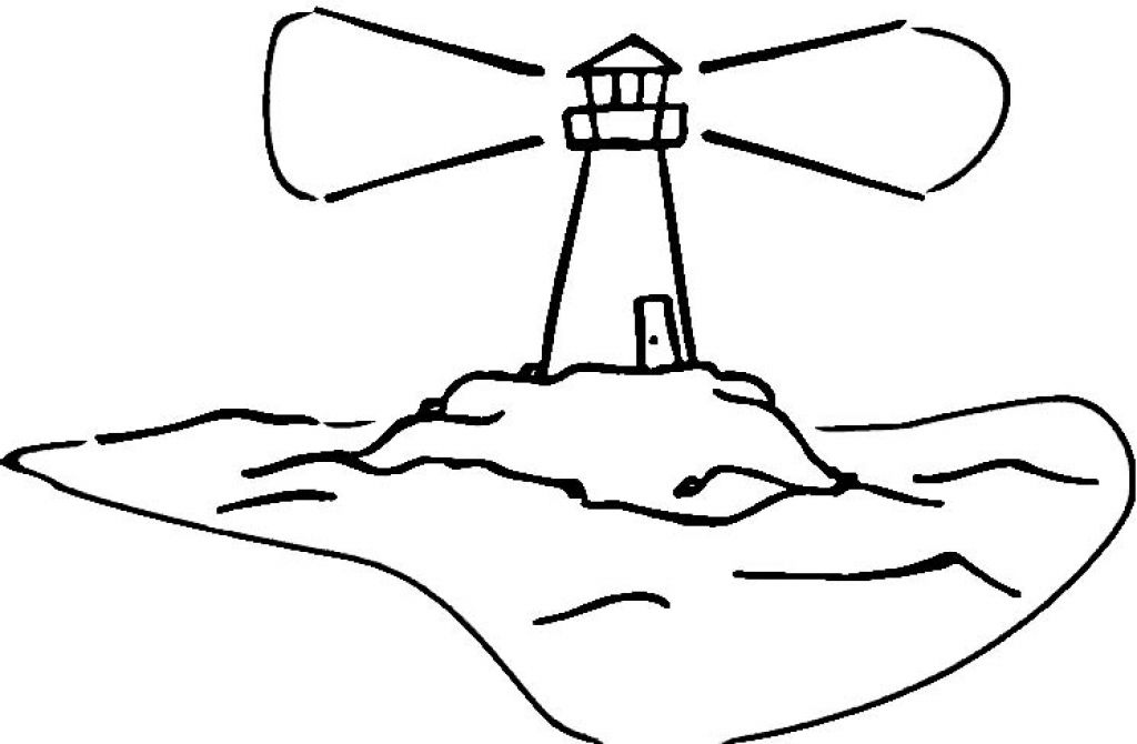 Lighthouse Coloring Pages - Free Coloring Pages For KidsFree ...