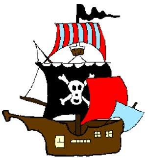 Pirate Ship Clipart - Cliparts.co