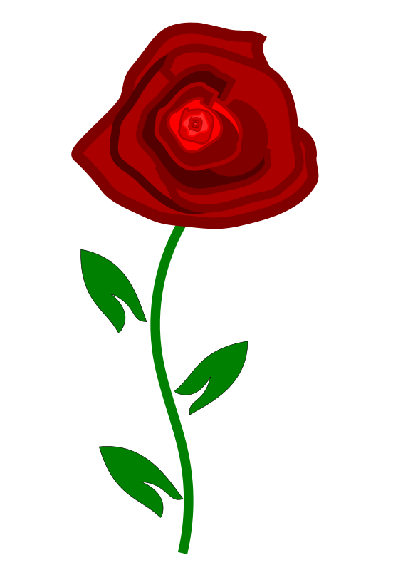 Free to Use & Public Domain Rose Clip Art