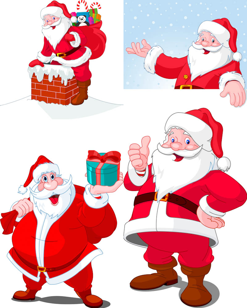 free clip art father christmas - photo #42