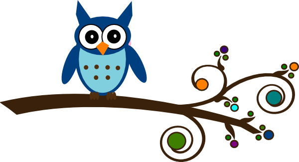owl on branch clipart rh worldartsme com owl family on branch clip art owl on tree branch clip art