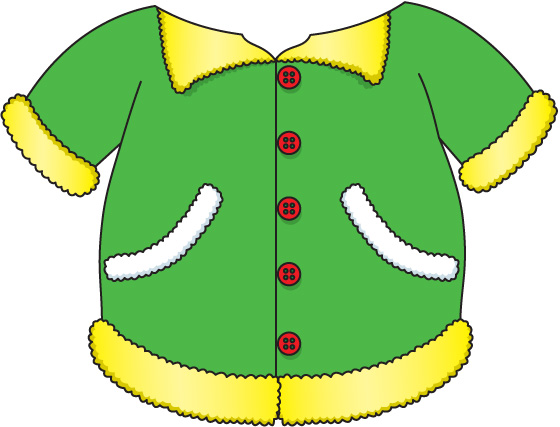 clipart winter clothing - photo #24