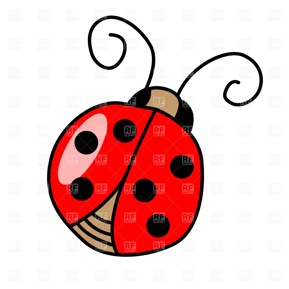 Lady Bird Clip Art - Cliparts.co