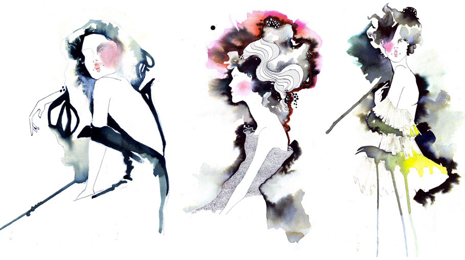 It's Friday, I'm In Love with: Fashion Illustration by Amelie ...