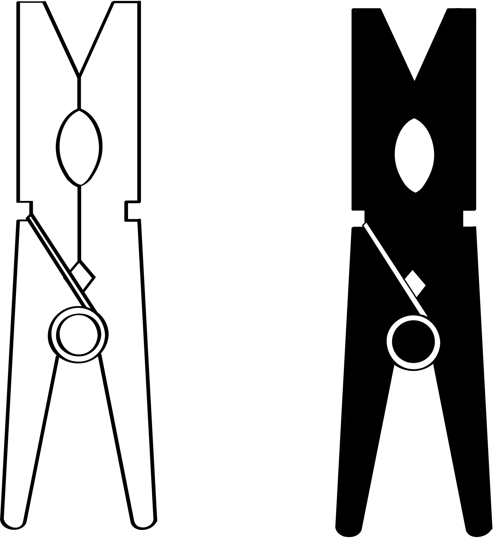Clothespin Clip Art - Cliparts.co