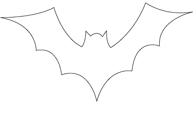 Crazy image with regard to printable bat template