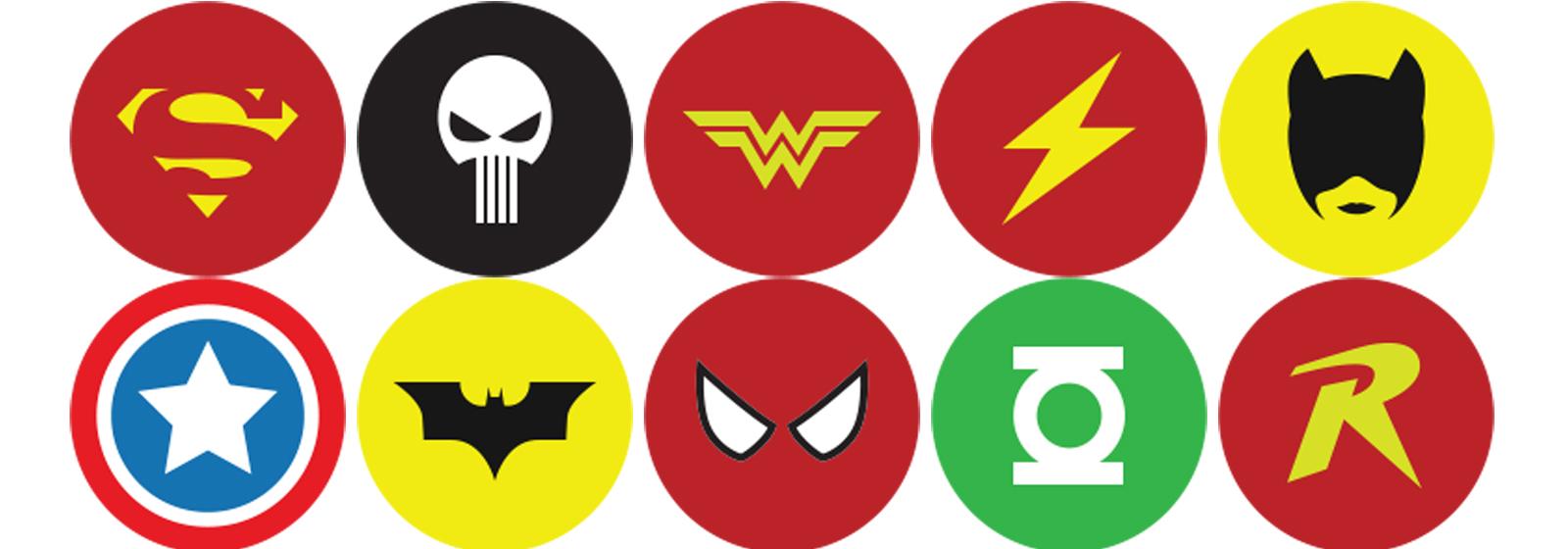 superheroes logos and names wwwimgkidcom the image