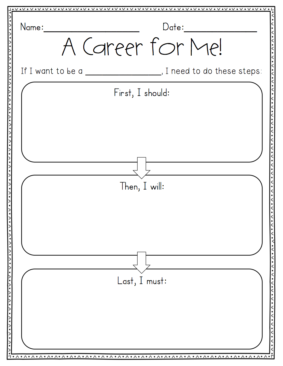 Fun Career Worksheets : Career day activity fun sheets free cliparts