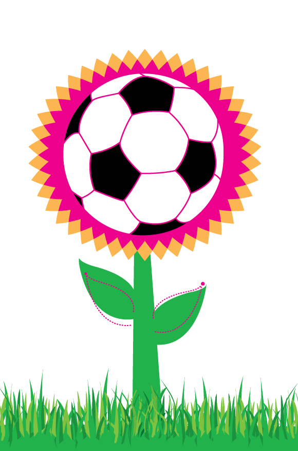 Download Soccer Flower Vector Free