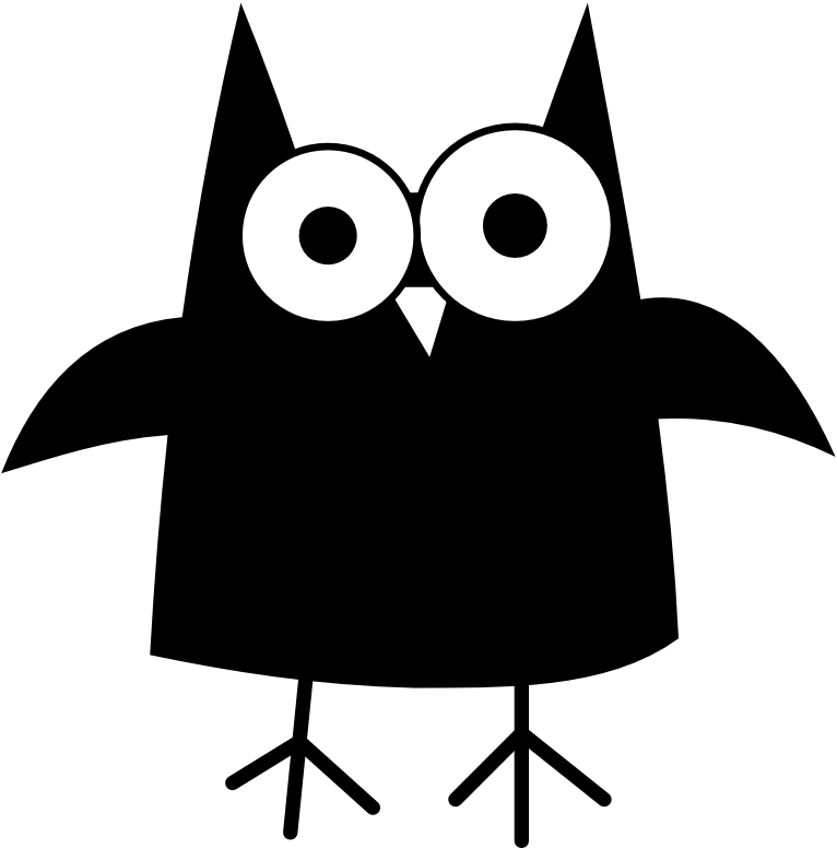 Owl Clip Art Black And White - Cliparts.co