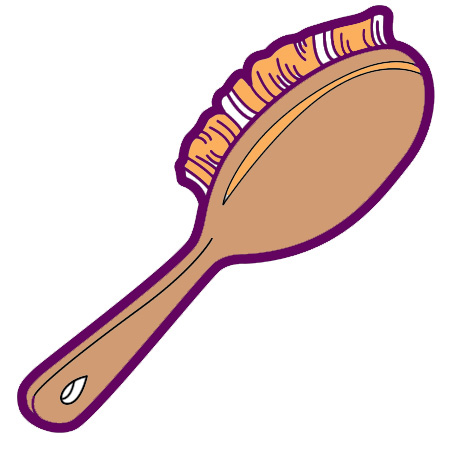 Brush Hair Clip Art - Cliparts.co