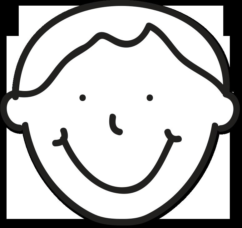 Straight Line Face Clip Art : Straight face clip art cliparts