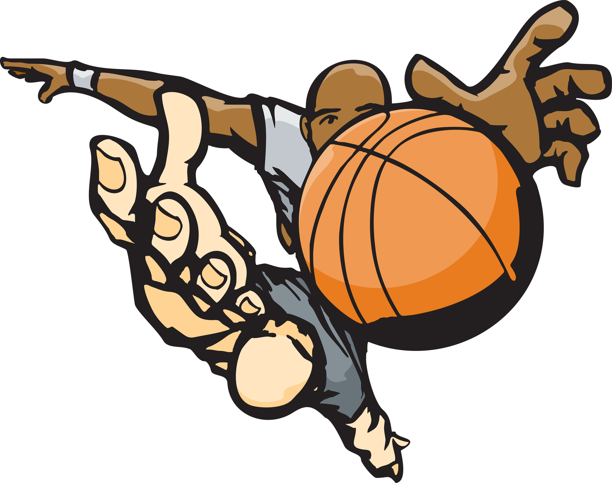 Clipart Basketball | Clipart Panda - Free Clipart Images
