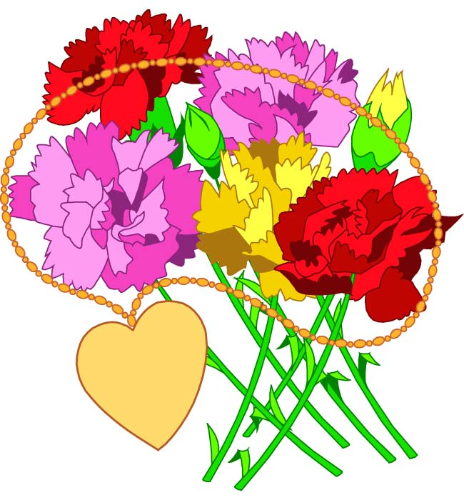 Flower Bouquet Clip Art Free - ClipArt Best
