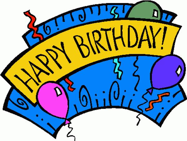 clipart for happy birthday - photo #31