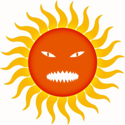 Hot Sun Clipart - Cliparts.co