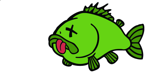 Dead Fish Clipart - Cliparts.co