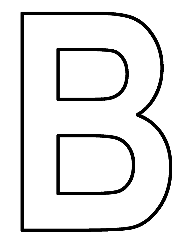 Letter B Clipart - Cliparts.co