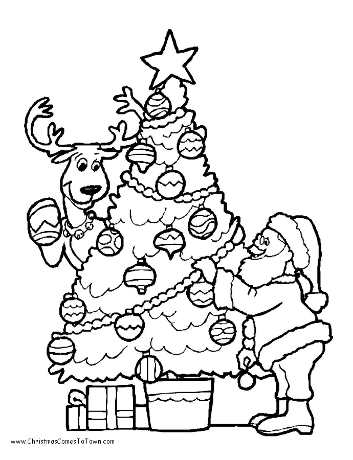 tree line coloring pages - photo#12