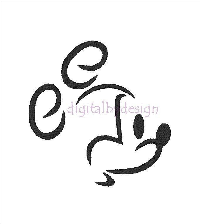 Mickey Head Outline - Cliparts.co