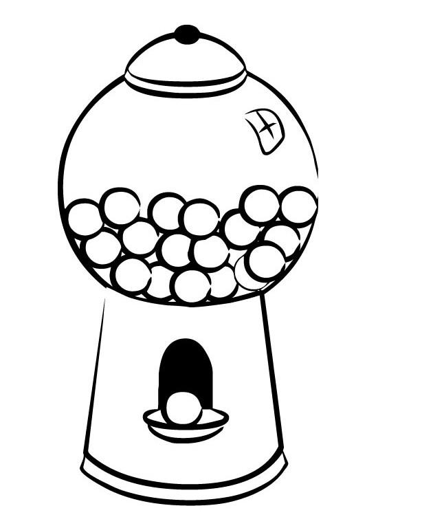 bubble gum machine picture cliparts co bubble gum machine clipart black and white Bubble Gum Clip Art