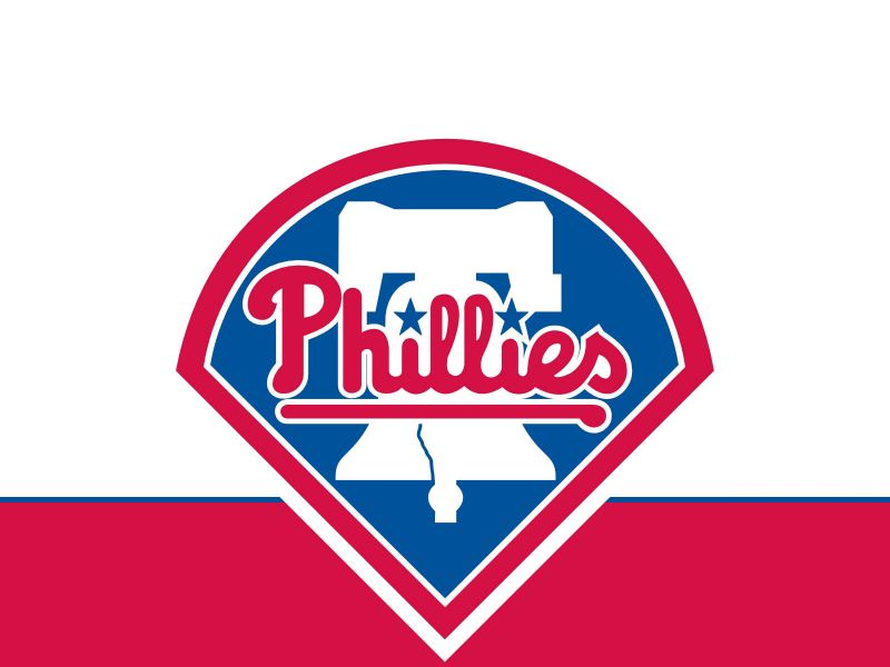 Philadelphia Phillies Logo White Background Wallpaper 800×600 ...