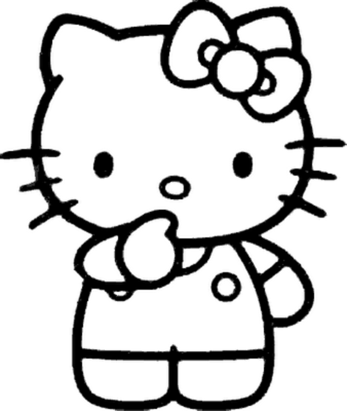 Hello Kitty | Free Coloring Pages - Part 8