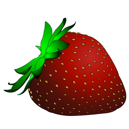 clipart picture of a strawberry - photo #13