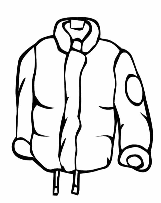 Cartoon Coat - Cliparts.co