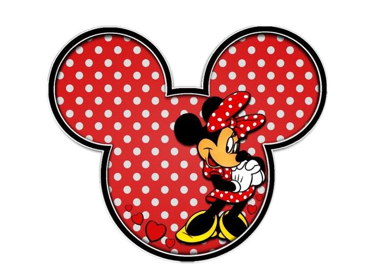 Irresistible image pertaining to printable minnie mouse head
