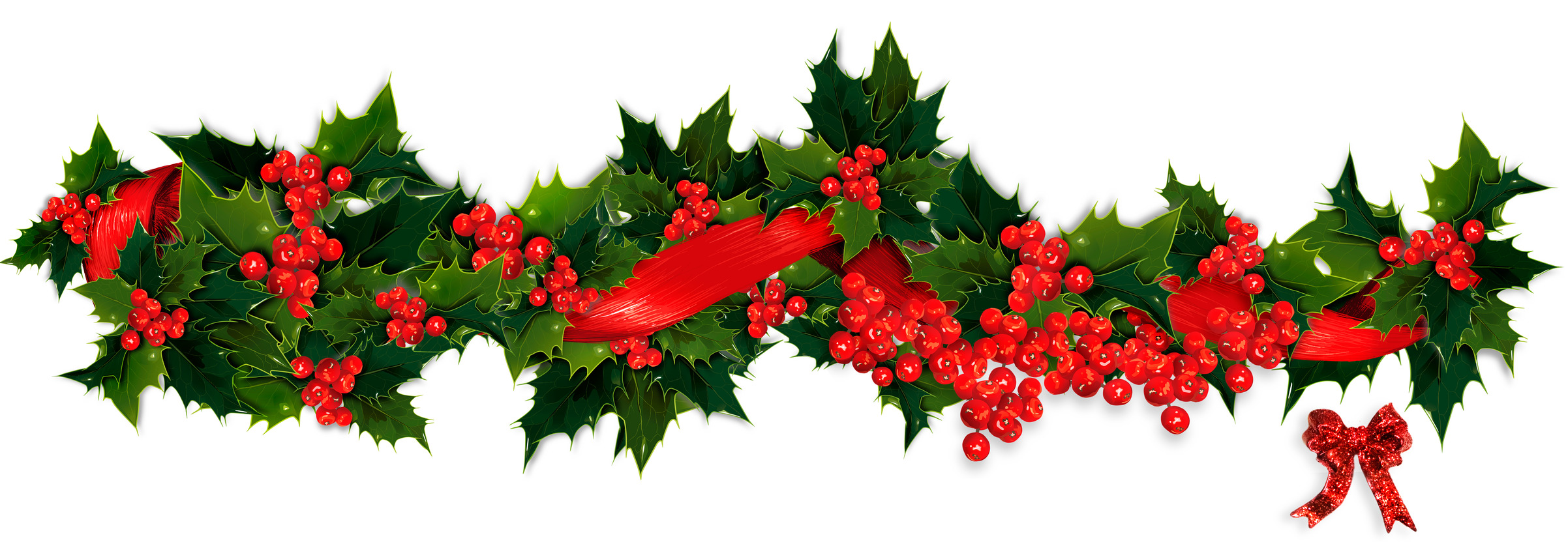 Xmas Stuff For > Christmas Garland Images - Cliparts.co