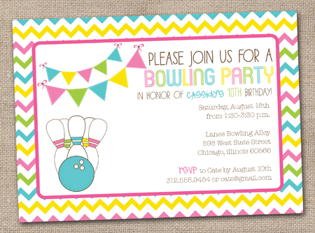 Free Printable Bowling Party Invitation Templates Clipartsco – Printable Bowling Party Invitations
