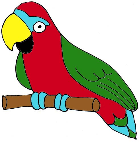 Clip Art Parrot - Cliparts.co